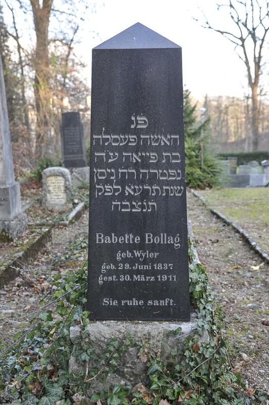Babette Bollag geb. Wyler