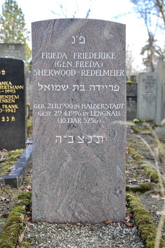 Frieda Friederike (gen. Freda) Sherwood-Redelmeier