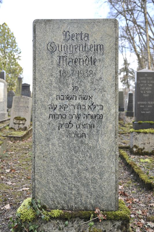 Berta Guggenheim-Maendle