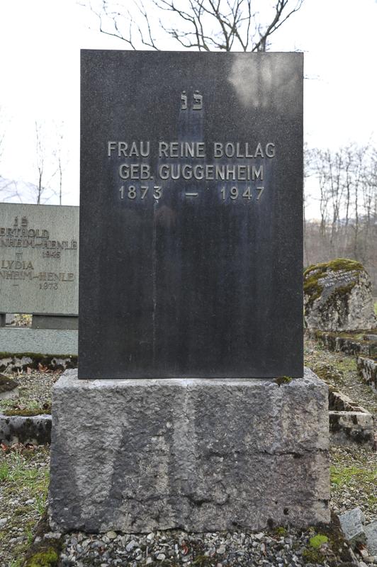Reine Bollag geb. Guggenheim