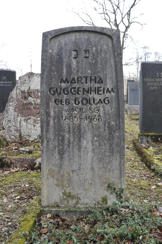 Martha Guggenheim geb. Bollag