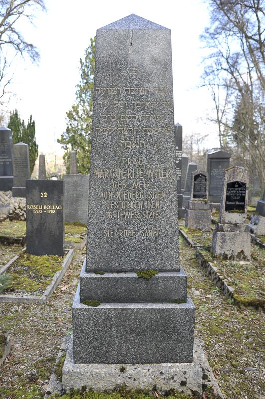 Marguerite Wyler geb. Weill