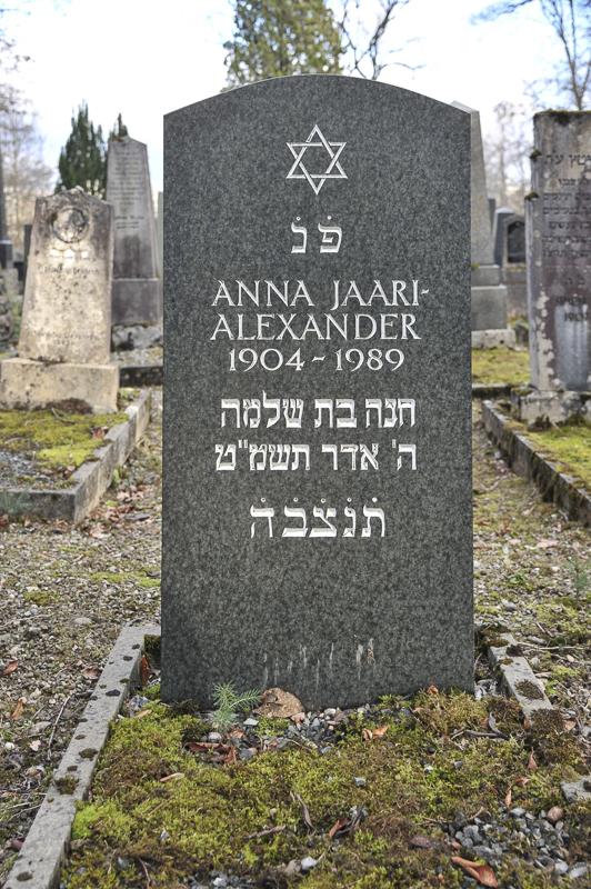 Anna Jaari-Alexander