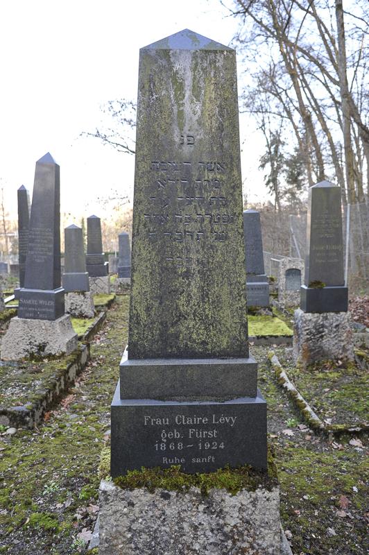 Clair Lévy geb. Fürst