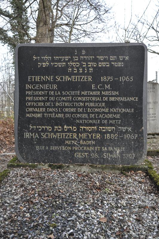 Etienne und Irma Schweitzer Meyer