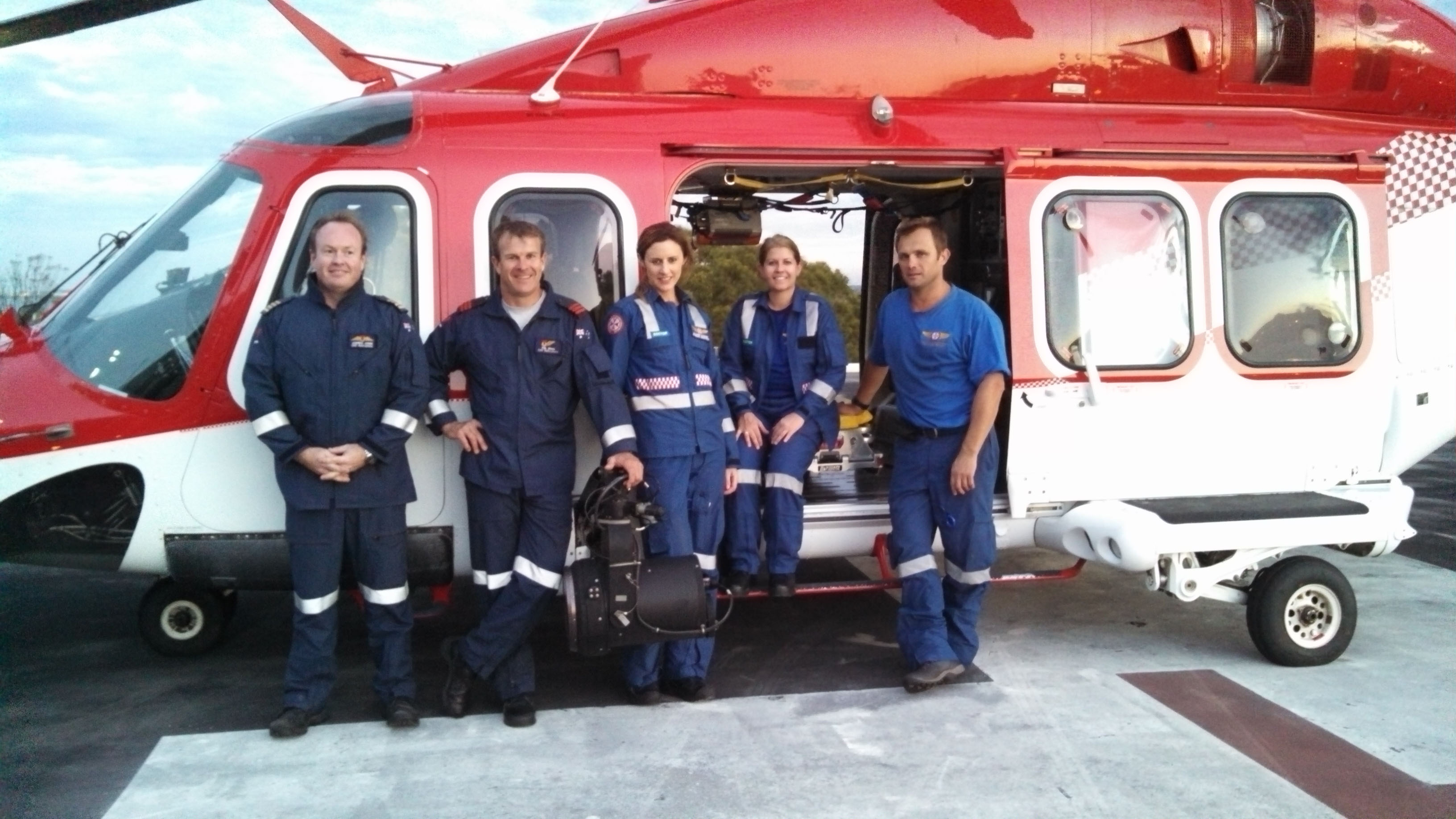 ASNSW Sue with crew