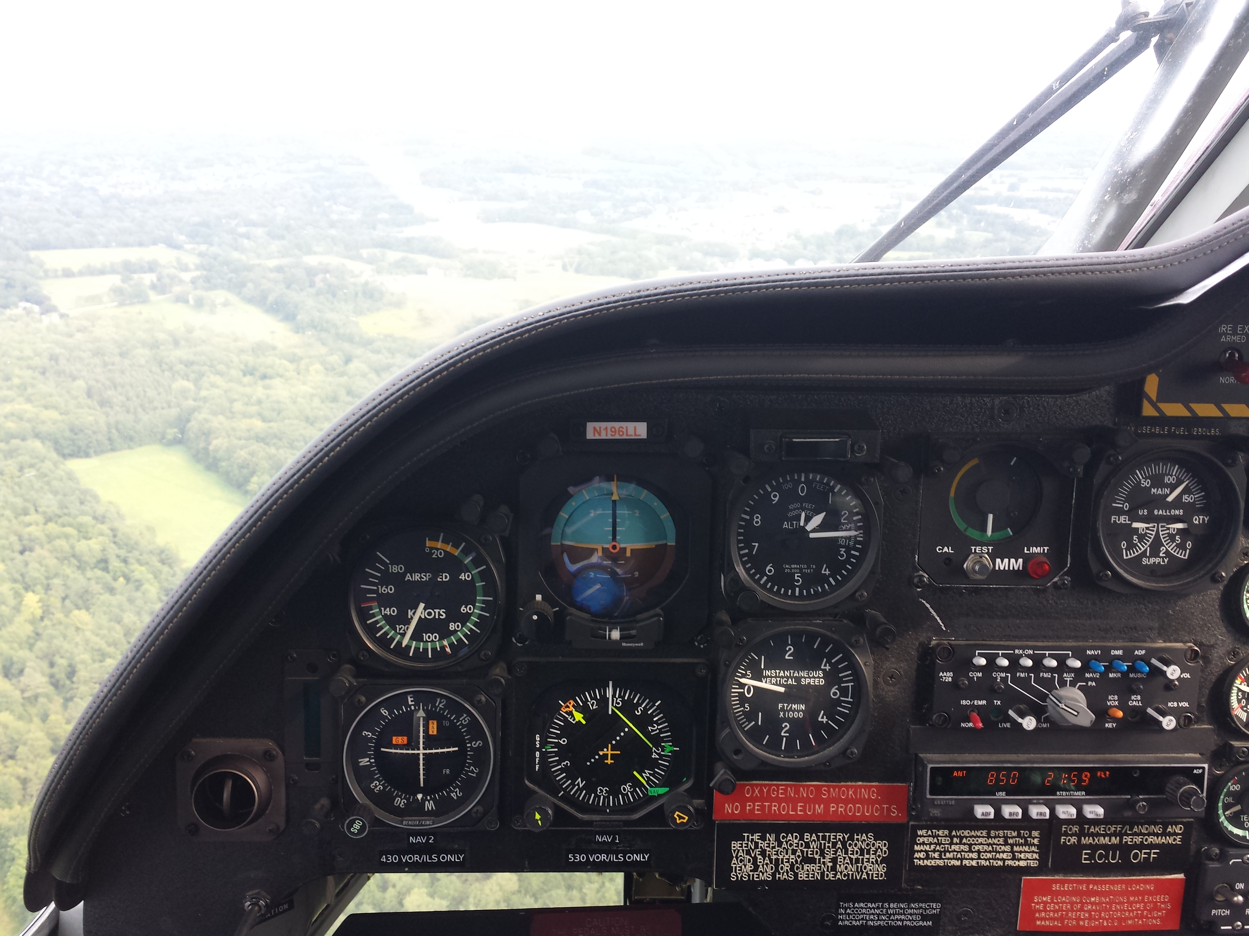 Mercy Flight Cockpit