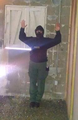 SPD Erin in Gas Mask