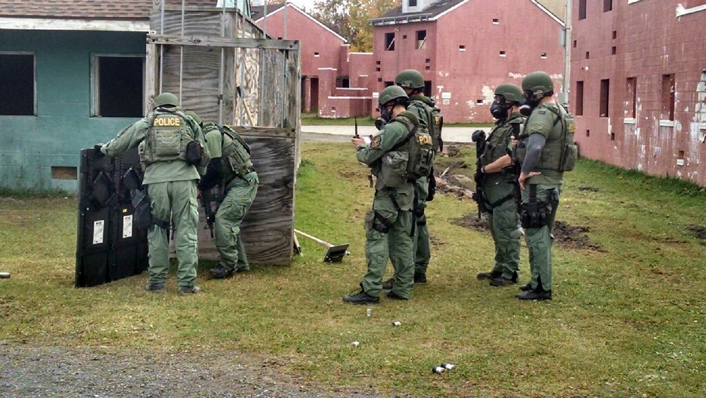 SPD SWAT training