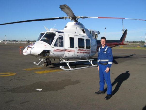 ASNSW Lyng by helicopter
