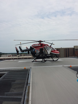 Mercy Flight Helicopter