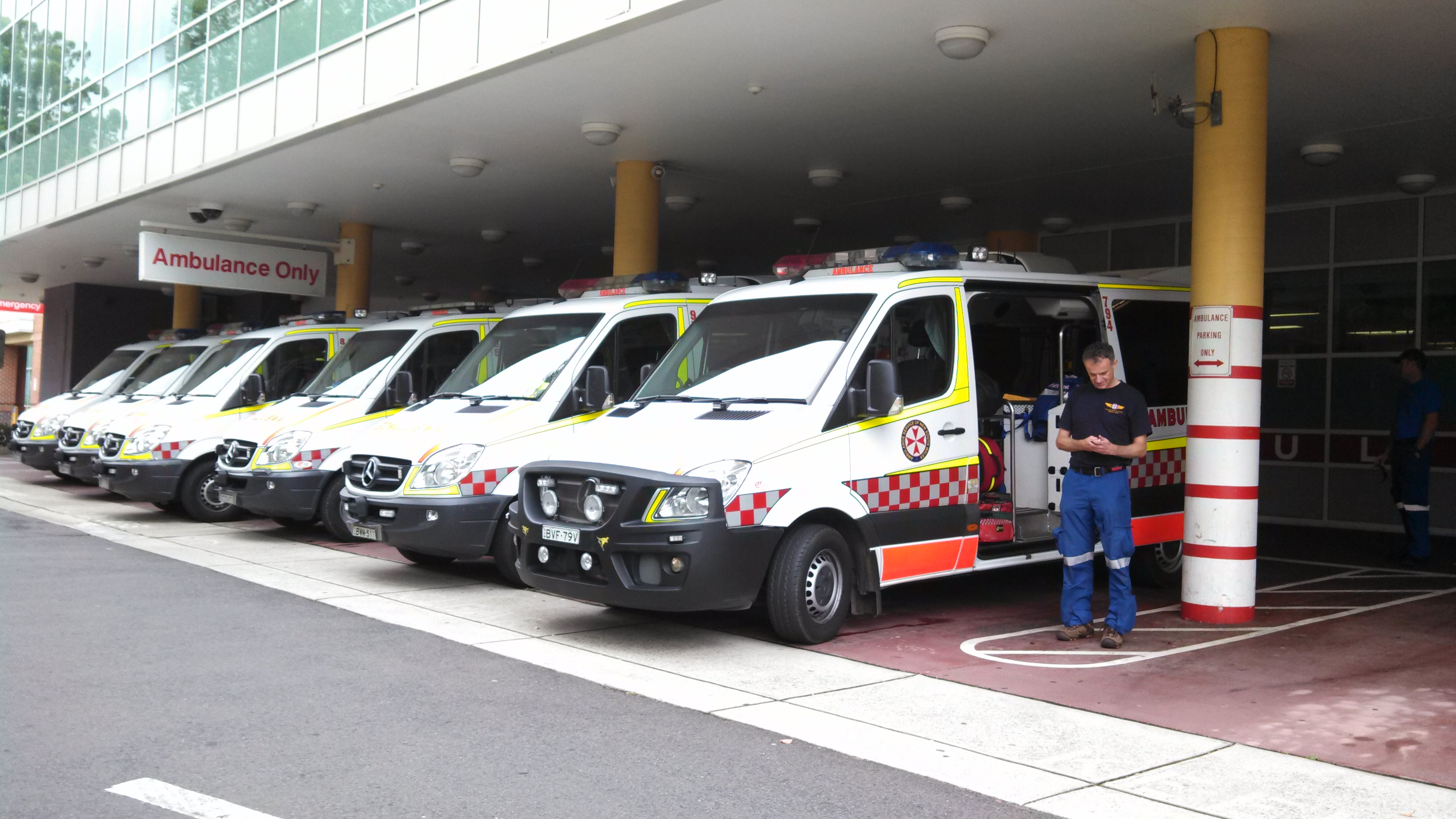 ASNSW ambulances