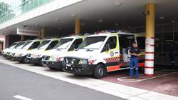 ASNSW ambulances