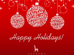 Happy Holiday, Leaders!
