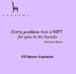 Problem is a gift - Agree or not
