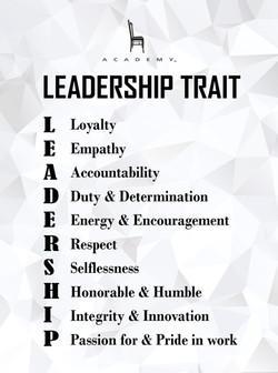 Leadership trait