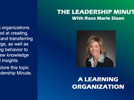 A Learning Organization