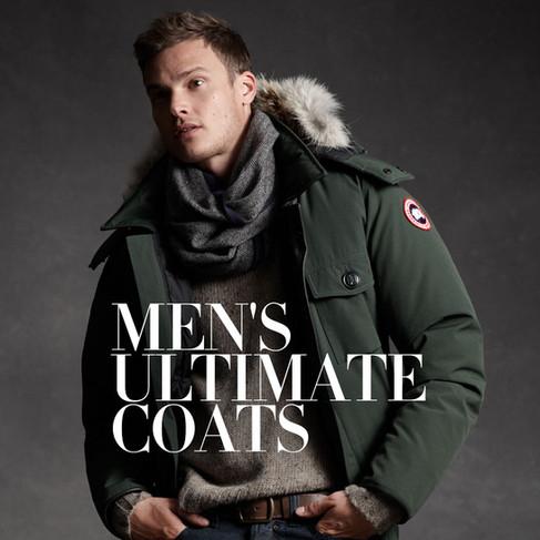 Men's Ultimate Coats - Men's Campaign
