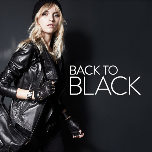Back To Black - Women's Accessories Campaign