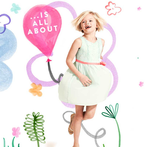 Party Time! - Nordstrom Kids' Dresswear Campaign