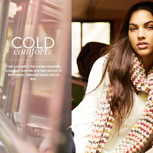 Cold Comforts - BP Junior Coats Campaign