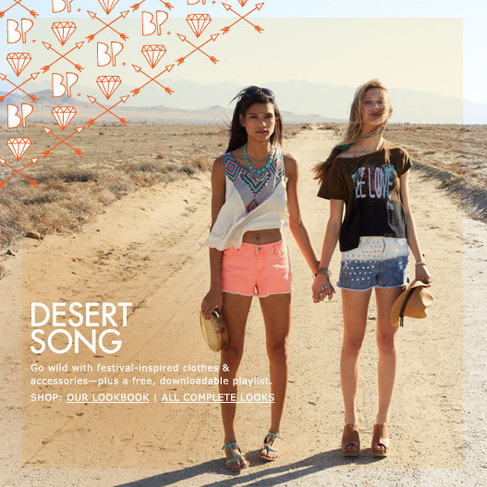 Desert Song - BP Juniors Campaign