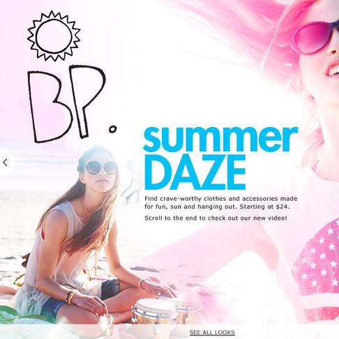 Summer Daze - Nordstrom BP Juniors Campaign