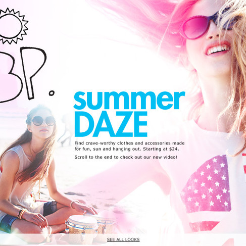 Summer Daze - Nordstrom BP Juniors Campaign