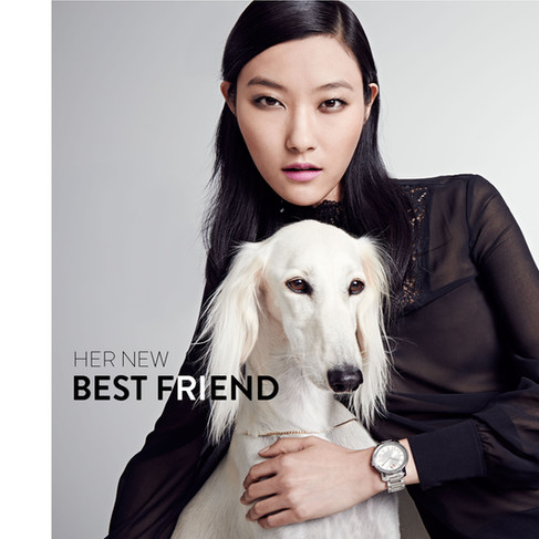 Her New Best Friend Watch Campaign