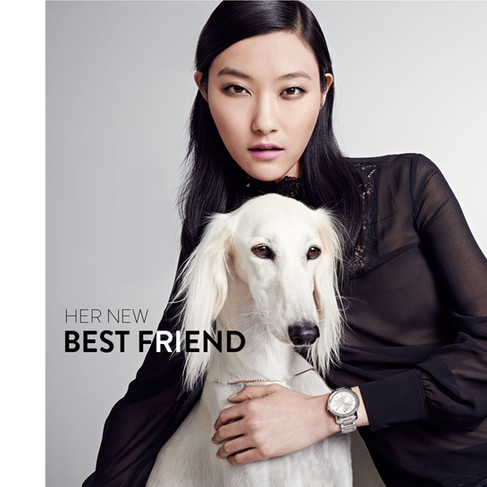 Her New Best Friend Watch Campaign
