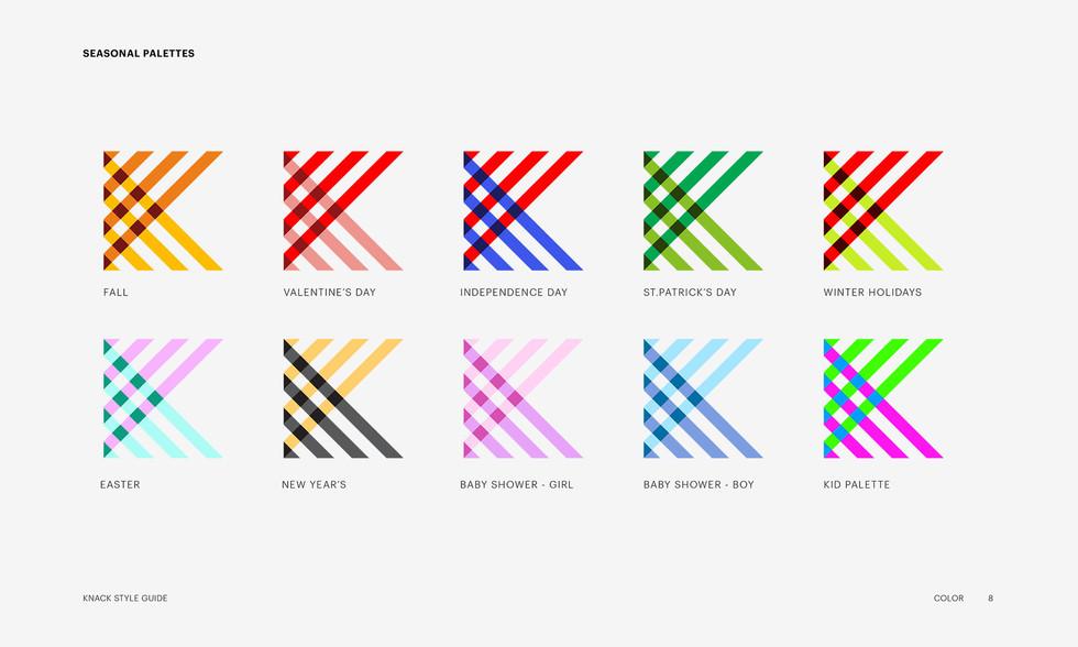 Seasonal Logo Colors