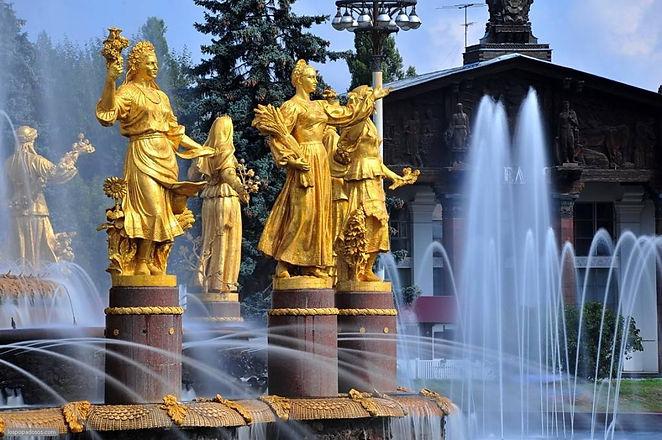Фото-Фонтан-Дружбы-народов-на-ВДНХ-в-Мос
