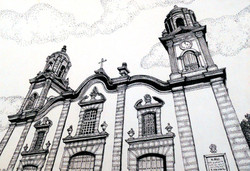 CHURCH AT SANTA MARIA DE GUIA