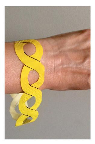 Kitchen gloves chain bracelet