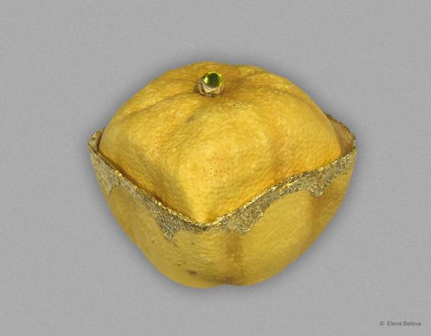 Yellow lemon box I