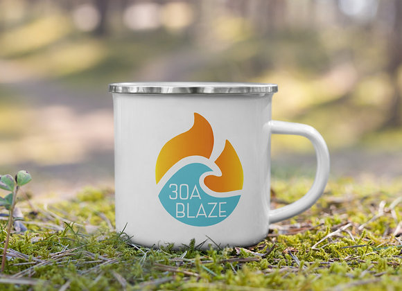 30A Blaze Enamel Mug