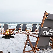 Come enjoy the beach with us #30ablaze #