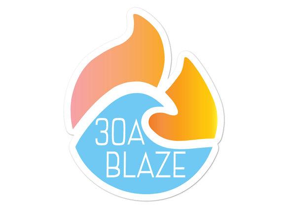 30A Blaze Sticker