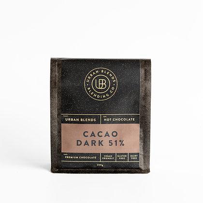 Cacao Hot Chocolate (Dark) 200g