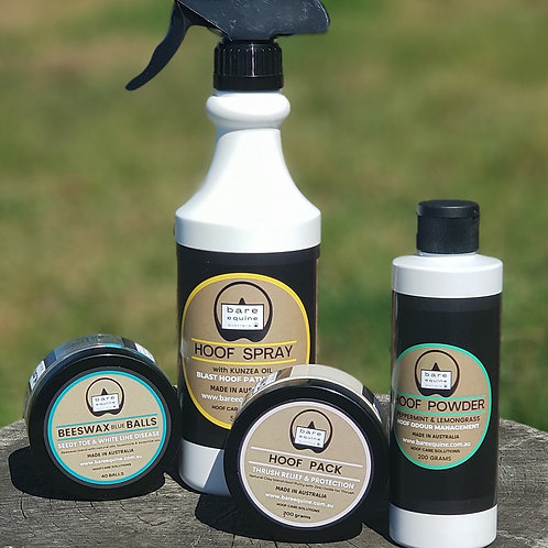 Hoof Care Package - our 4 signature products