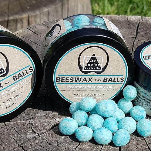 BEESWAX Blue BALLS