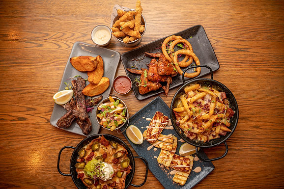Chicken Winges, Onion Bites, Lamb Riblets, Nachos, Grilled Halloumi, Loaded Fries  (1) (1)