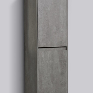 ENZO 1200 Side Cabinet - Concrete