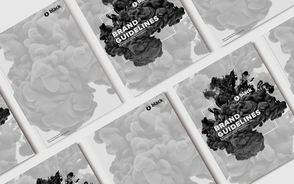Black Creative Studio Brand Book