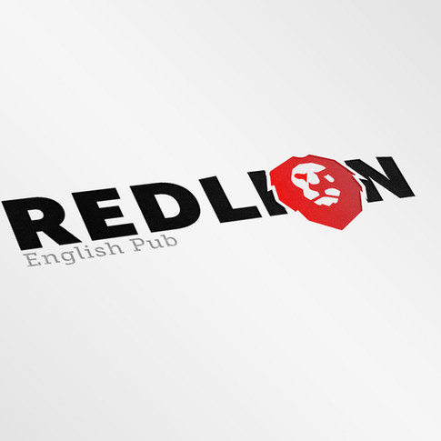 Red Lion English Pub Logo