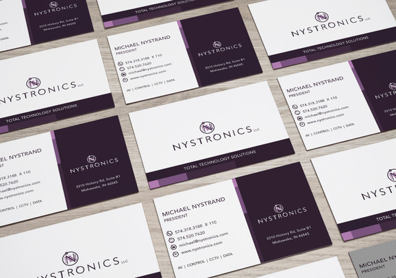 Nystronics Business Cards