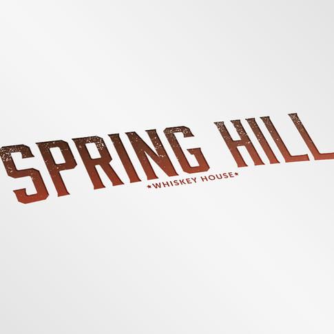 Spring Hill Whiskey House Logo