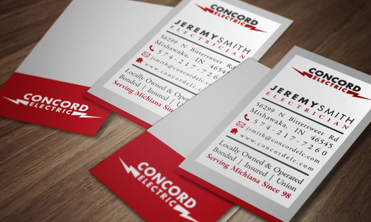 Concord Electric Business Cards