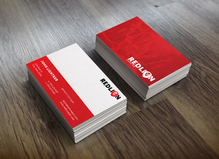 Red Lion English Pub Business Cards