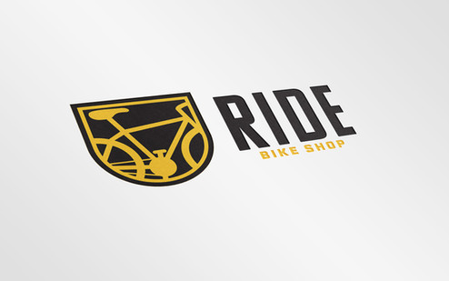 RIDE Bike Shop Logo